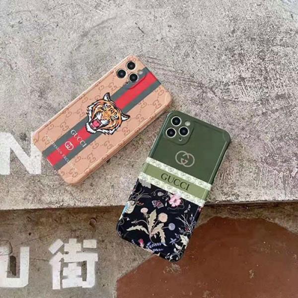 グッチiphone13/13 mini/13 pro/13 pro maxケースブランド虎柄 かっこいいiphone 11/11pro/11pro maxケースGucciジャケット型 男女兼用iphone12/12mini/12pro/12pro maxケース 高級 人気