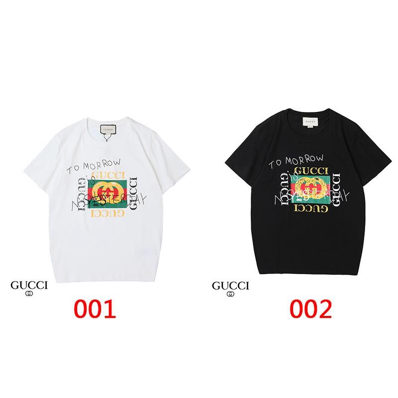ハイブランド グッチ/Gucci Tシャツ原宿系ファッション Tシャツ