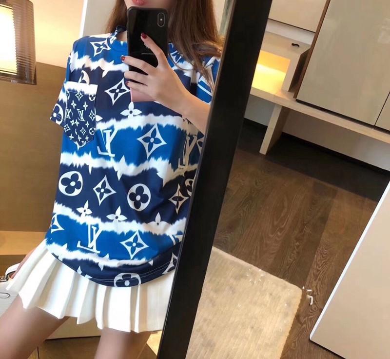 半袖 Tシャツ ヴィトン風 女性 ファッション Tシャツ