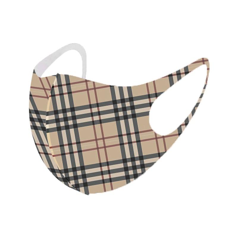 立体縫製 Play マスク ブランド風  burberry マスク 子供用/大人用
