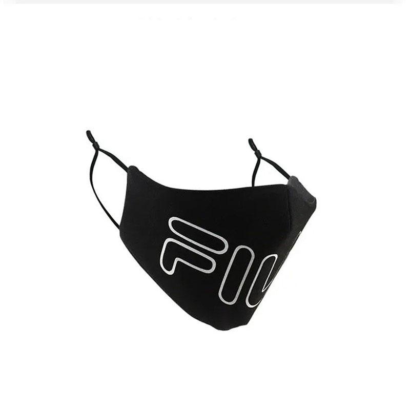Unisex Fila Brand Cloth Masks High Quality 3D Reusable Washable Face Masks Sport Coverings