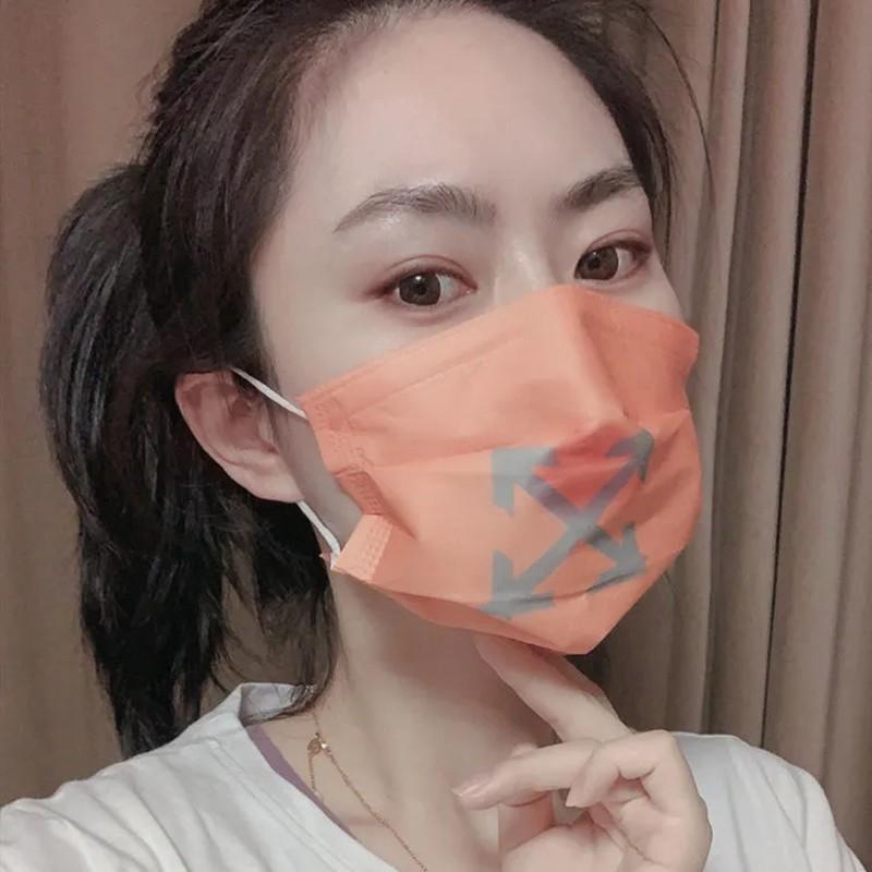オーフホワイト ファッション マスク 大人用 子供用 男女兼用