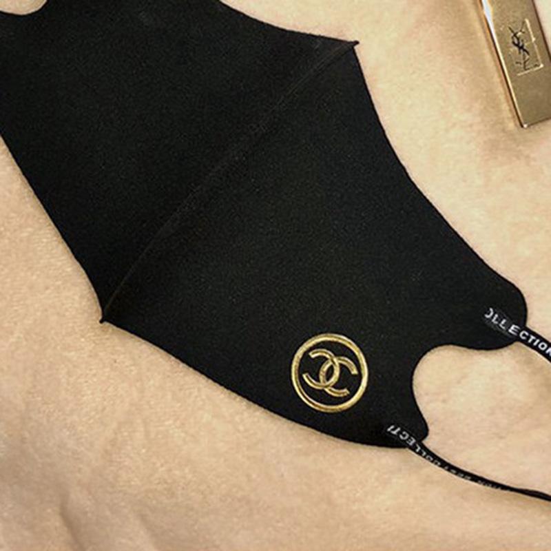 グッチファッションブラック洗えるマスク