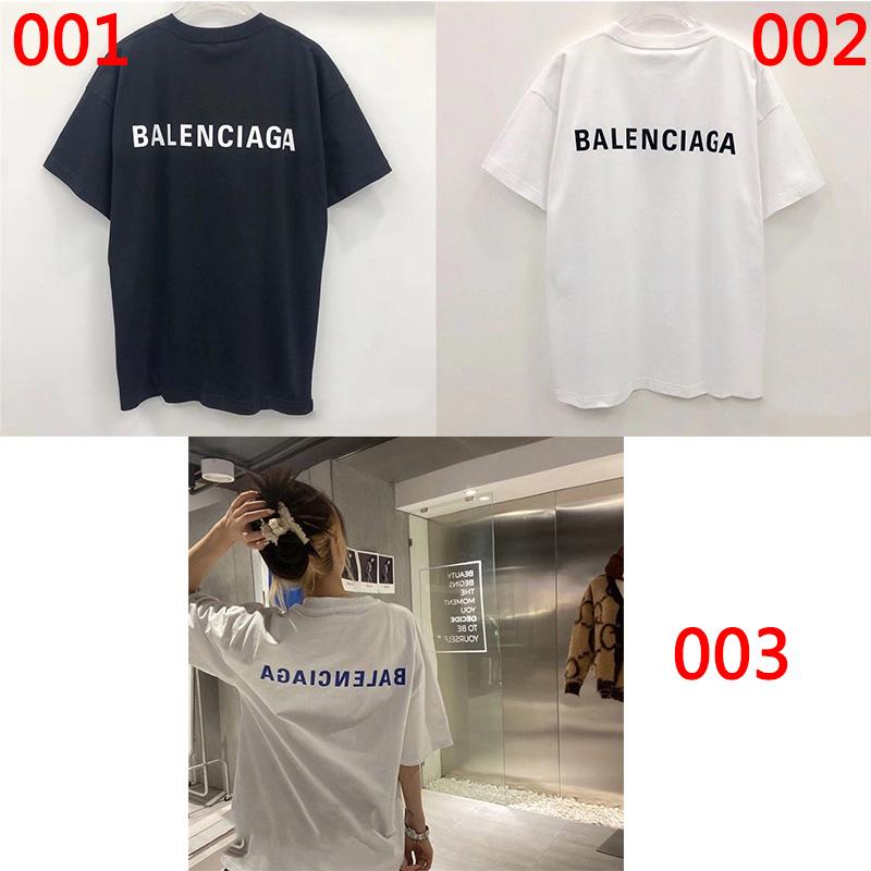 バレンシアガブランド半袖tシャツ