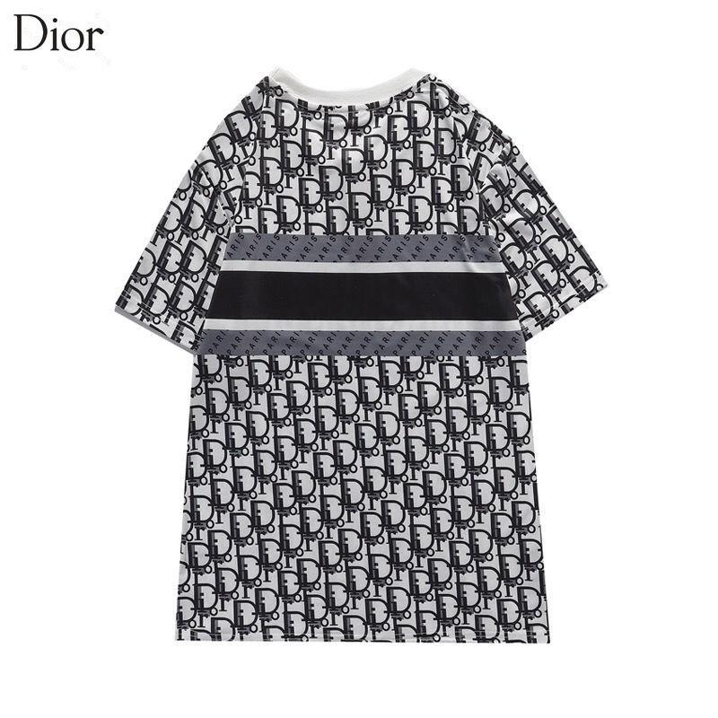おしゃれDior経典ロゴジェンダーレス服かっこいいゆったり