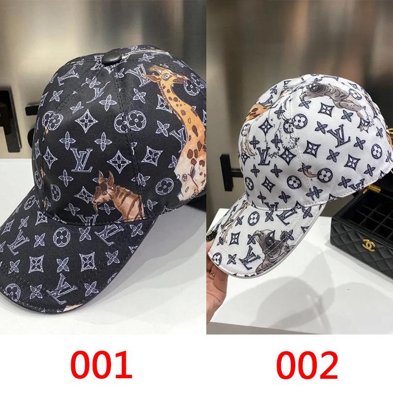 ハイブランドルイヴィトンキャップスターカップル同型ハンチング帽