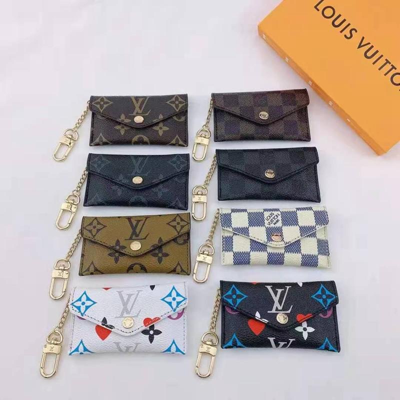 LV定番プリント小銭カードバッグ